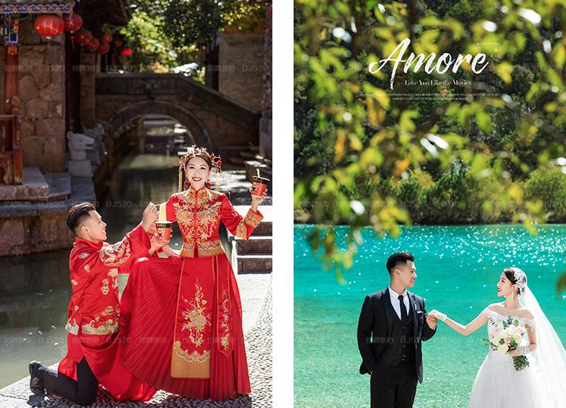丽江旅拍婚纱照 给大家安利铂爵旅拍
