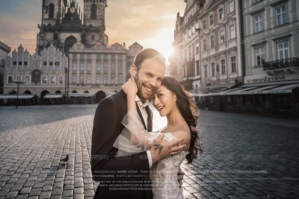 布拉格在哪里 布拉格婚纱照的价格行情是怎样的