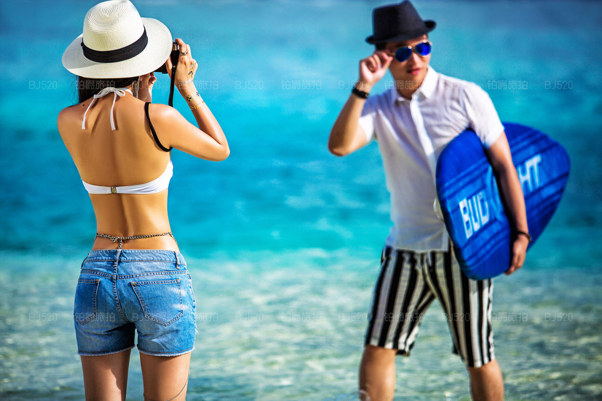 马尔代夫旅拍婚纱摄影价格分析,套餐有几种呢?