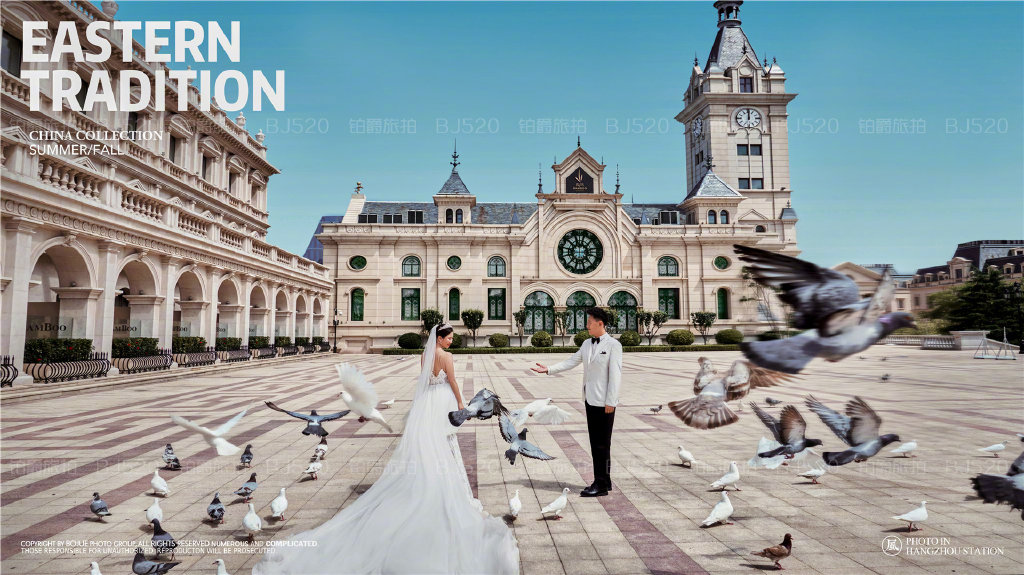 铂爵旅拍大连婚纱照的美好记忆