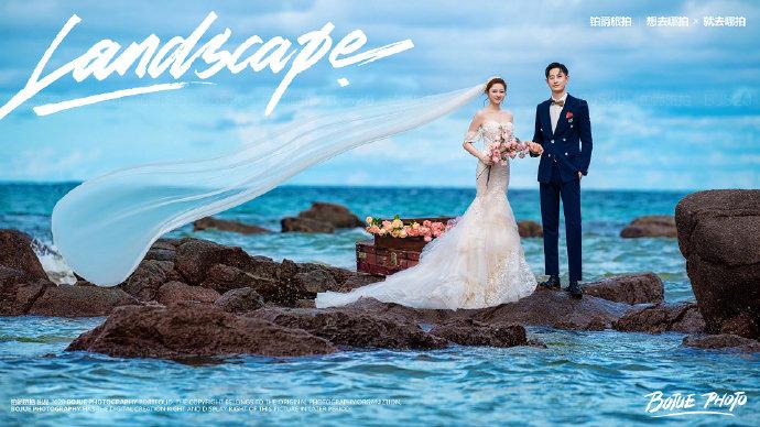 三亚旅拍婚纱摄影的浪漫体验