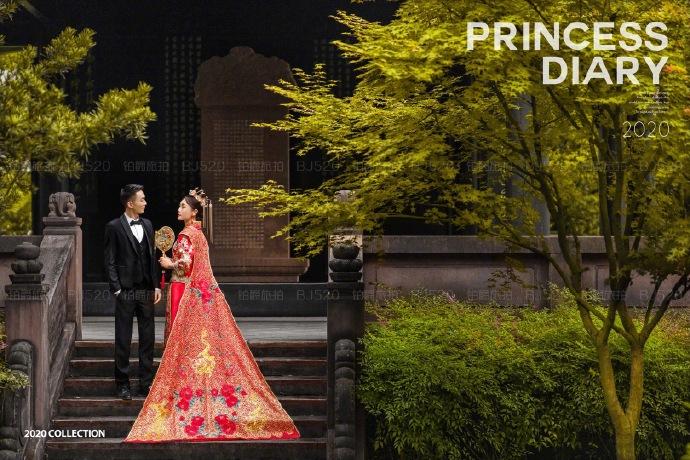 铂爵旅拍成都婚纱照的浪漫记录