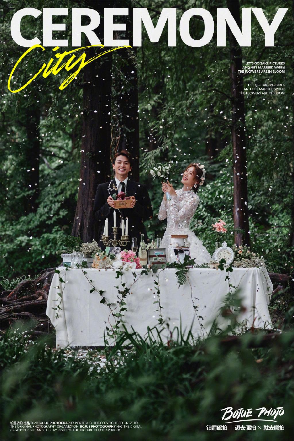 铂爵旅拍之杭州婚纱摄影浪漫日记