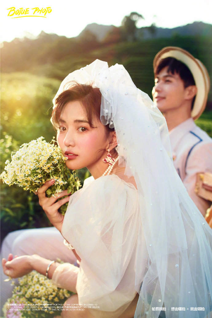 铂爵旅拍杭州婚纱照 难忘的蜜月之旅