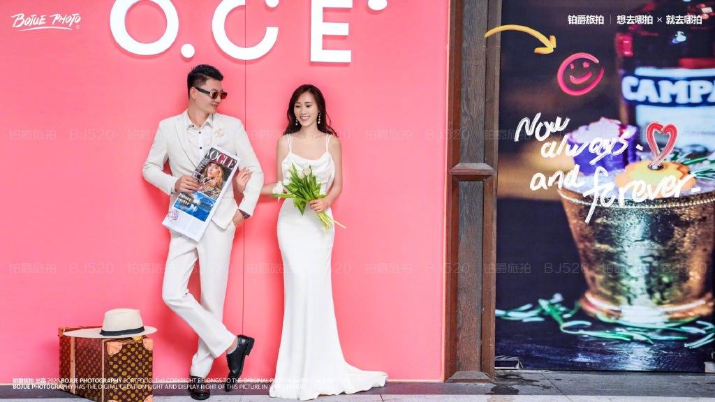 铂爵旅拍深圳婚纱照 有你的地方就有浪漫