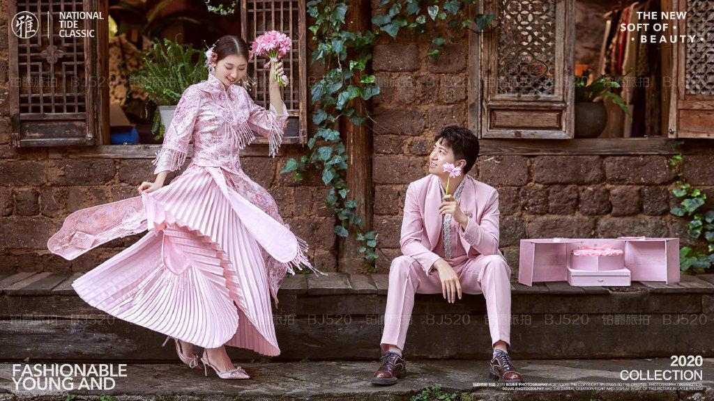 铂爵旅拍丽江婚纱照 浪漫一生的婚纱摄影之旅