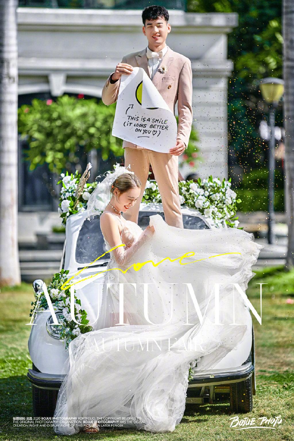厦门旅拍婚纱摄影 一生铭记的婚纱照拍摄纪念
