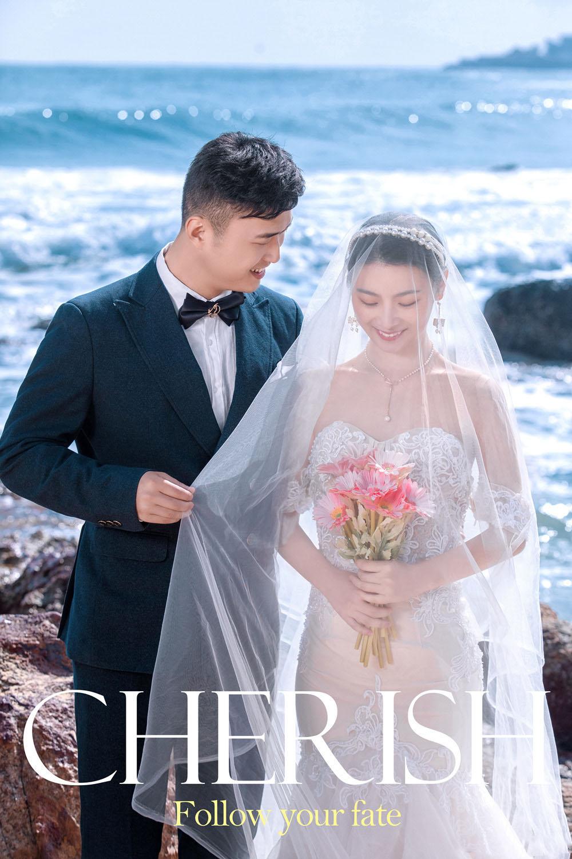 三亚旅拍婚纱照 很幸运遇到了铂爵旅拍婚纱摄影团队