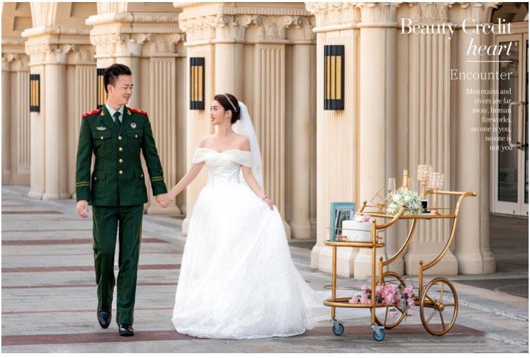 三亚旅拍婚纱照 选择铂爵旅拍没有错
