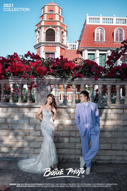 铂爵旅拍厦门婚纱照 一生一次的美好纪念