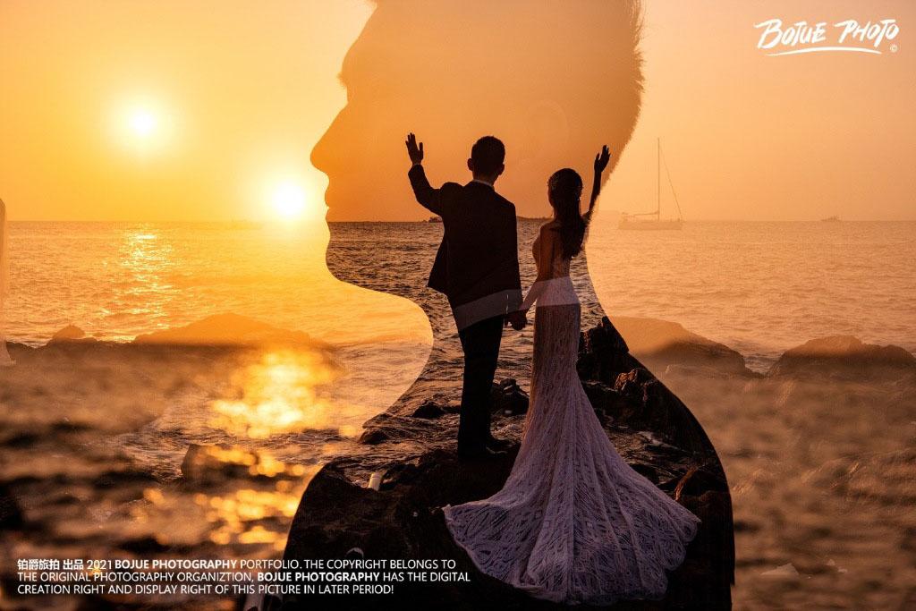 三亚旅拍婚纱照 一次愉快又难忘的旅拍
