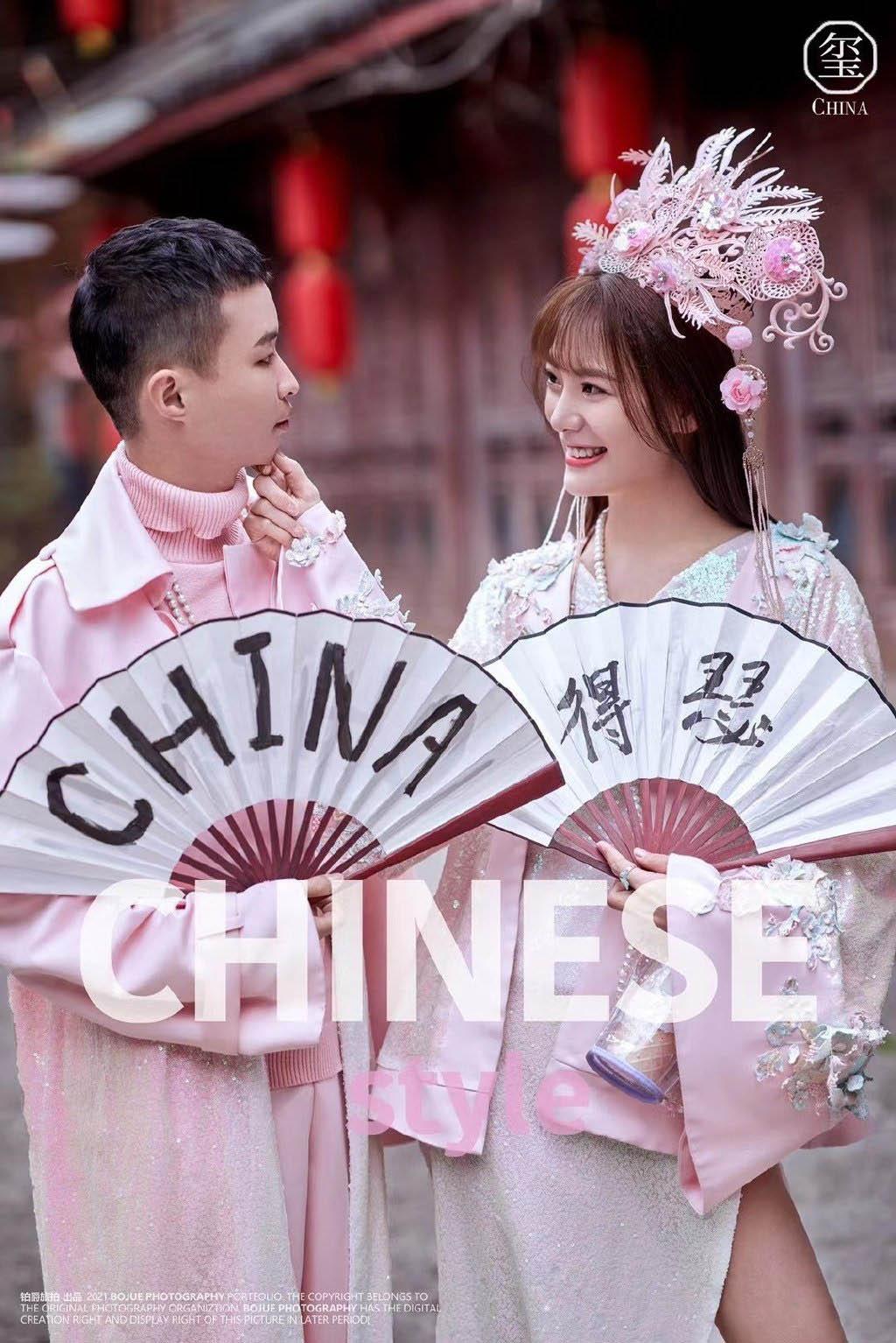 铂爵旅拍丽江婚纱照 给爱情画一个完美的记号