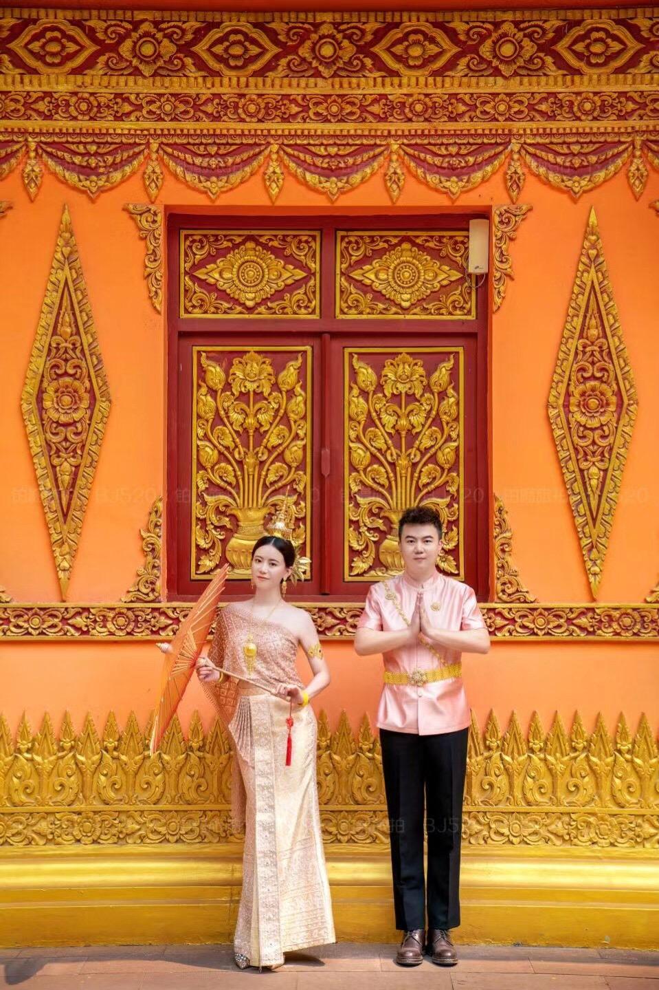 铂爵旅拍西双版纳婚纱照 没有遗憾的婚纱摄影之旅