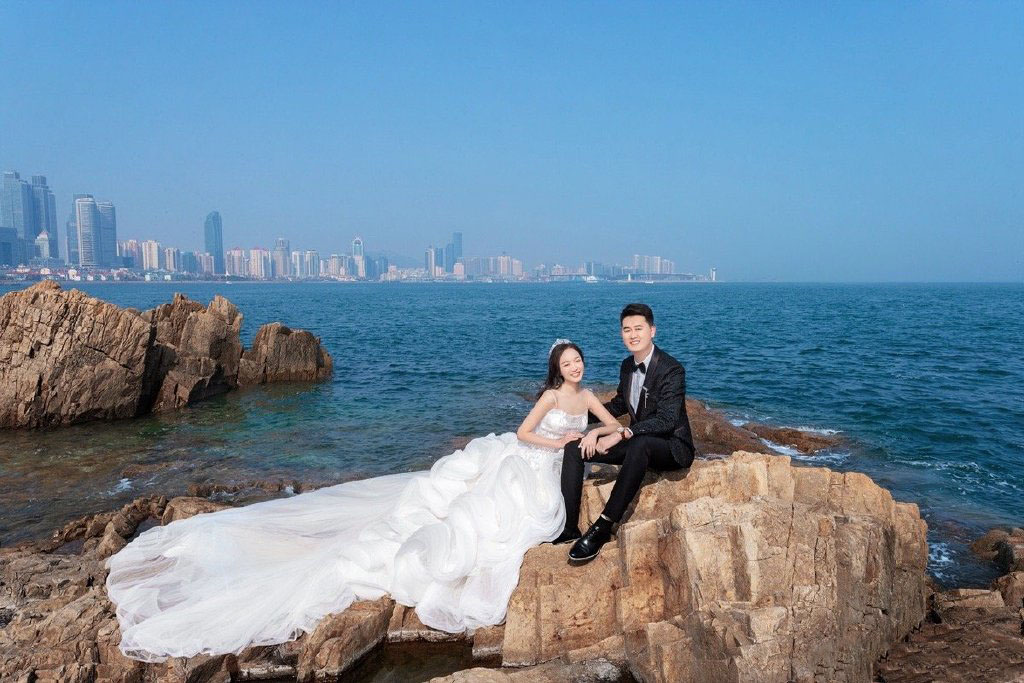 青岛旅拍婚纱照选择铂爵旅拍真是一个正确的决定