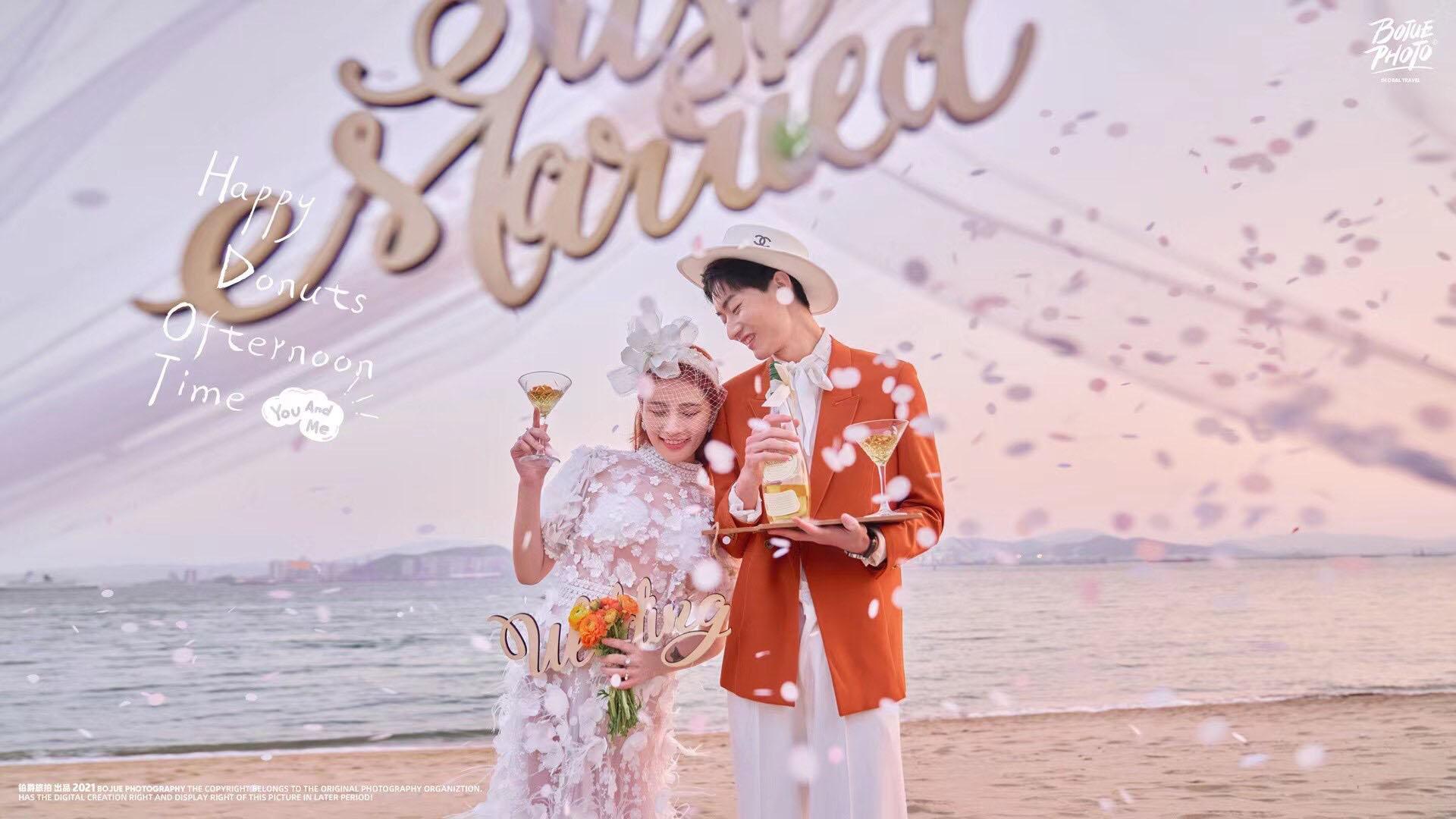铂爵旅拍厦门婚纱照 感受浪漫旅拍带来的惊喜体验