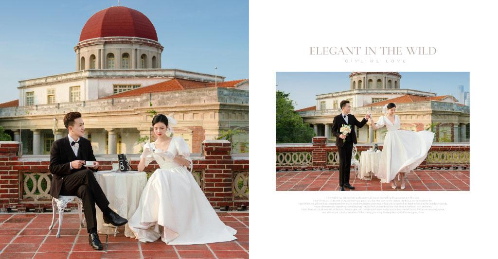 铂爵旅拍婚纱照 体验厦门高端婚纱摄影之旅