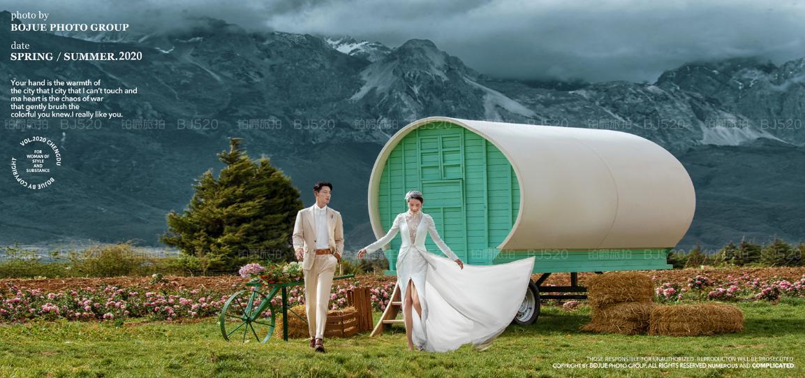春暖花开时,到海南,约一场花海婚纱照可好?