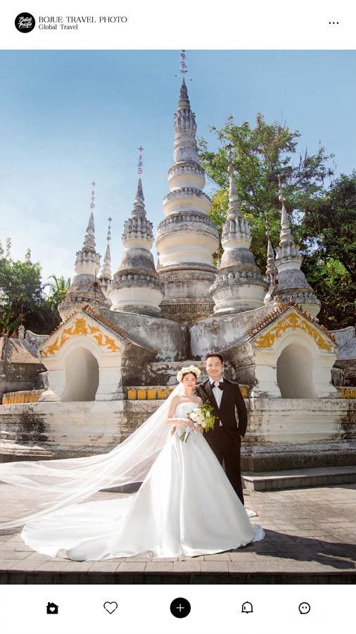 西双版纳旅拍婚纱照 铂爵旅拍带我们体验别样的异域婚拍之旅