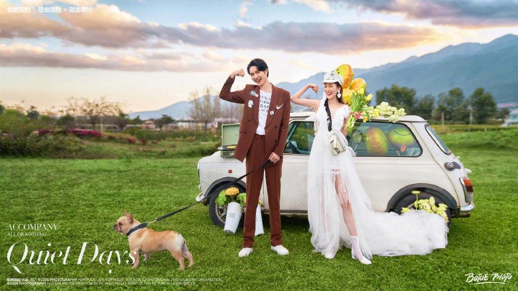 大理婚纱摄影 感谢铂爵旅拍给我们一次愉快轻松的拍摄体验