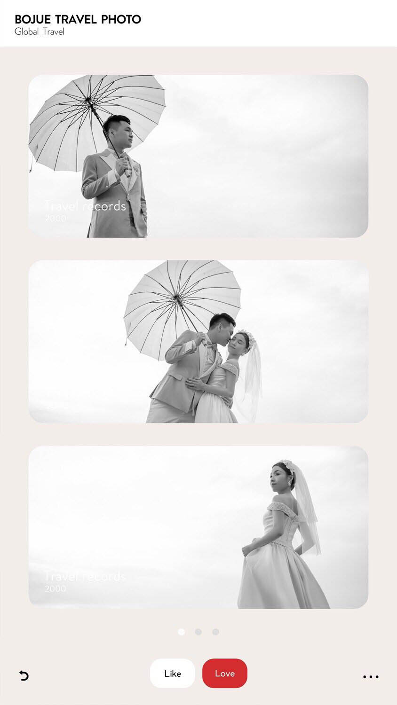 厦门旅拍婚纱照 非常感谢铂爵旅拍摄影团队的用心