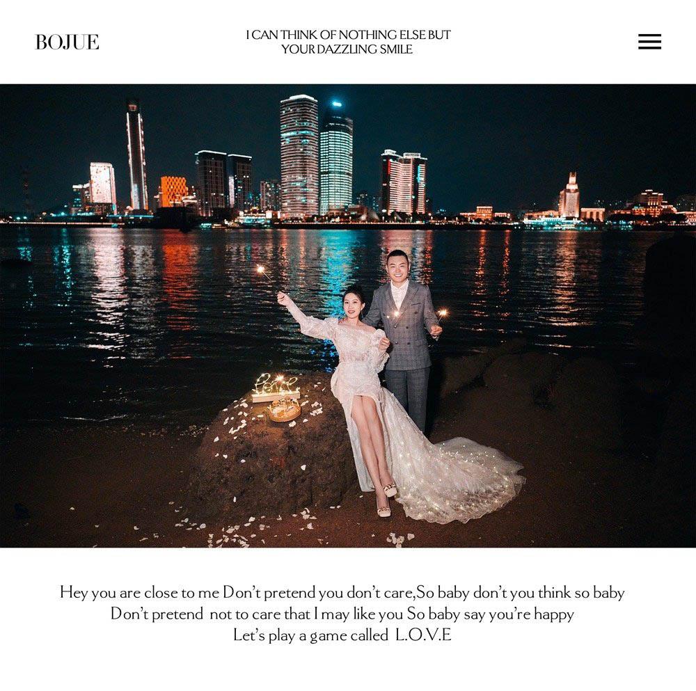 厦门旅拍婚纱照 感谢铂爵旅拍带我们完成最美的婚纱纪念照