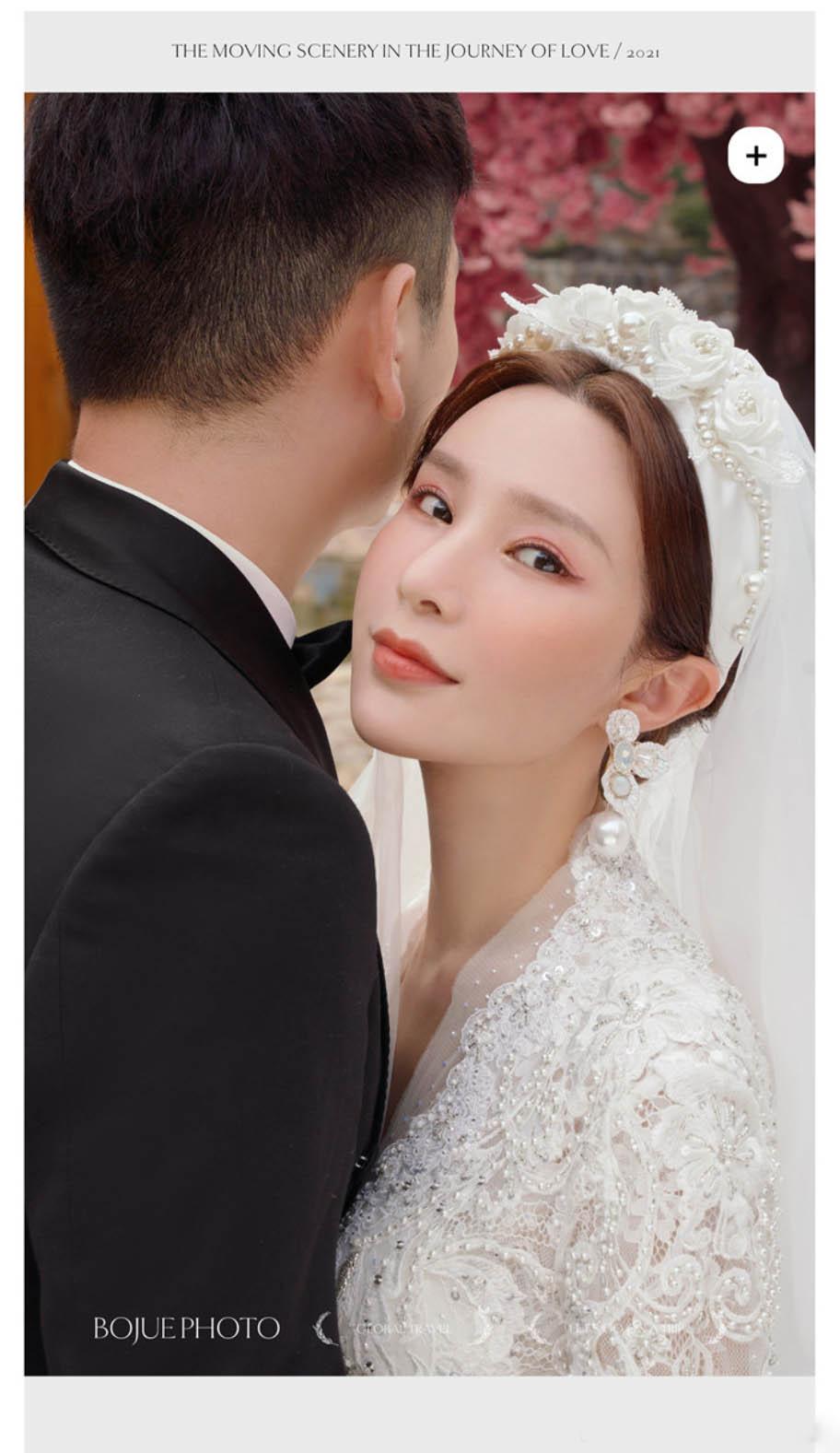 丽江旅拍婚纱照 感谢铂爵旅拍完美实现了我的婚纱梦想
