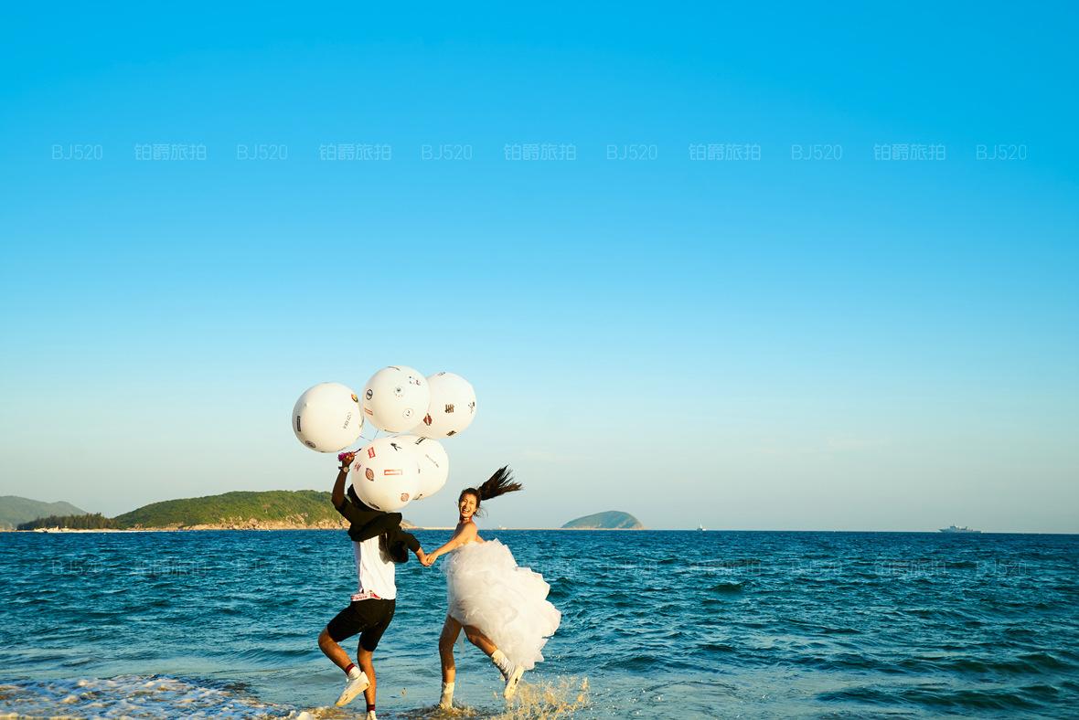 三亚西岛取景拍婚纱照美吗?三亚西岛可以拍摄婚纱照的场景