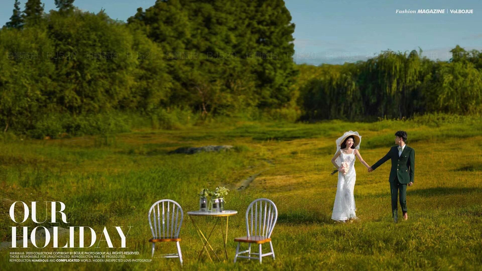 铂爵旅拍婚纱照 记录在大理的婚纱摄影之旅
