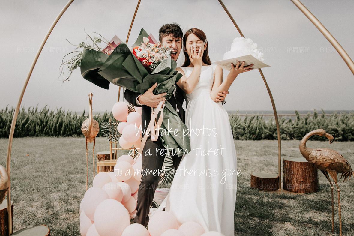 大连十里黄金海岸适合拍哪种风格的婚纱照 旅拍婚纱照要注意什么事情