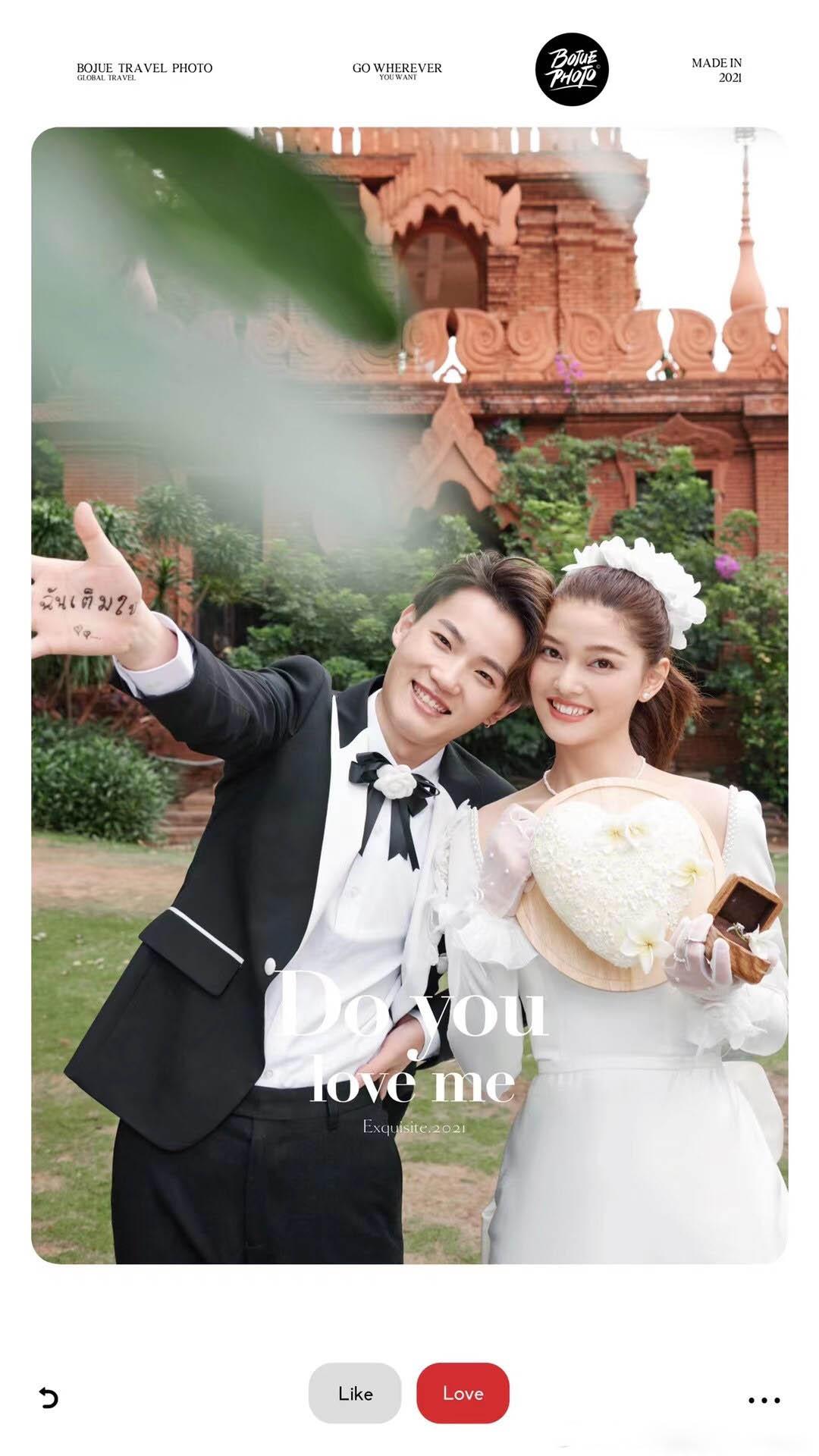 铂爵旅拍婚纱摄影 记录西双版纳旅拍婚纱照的美好