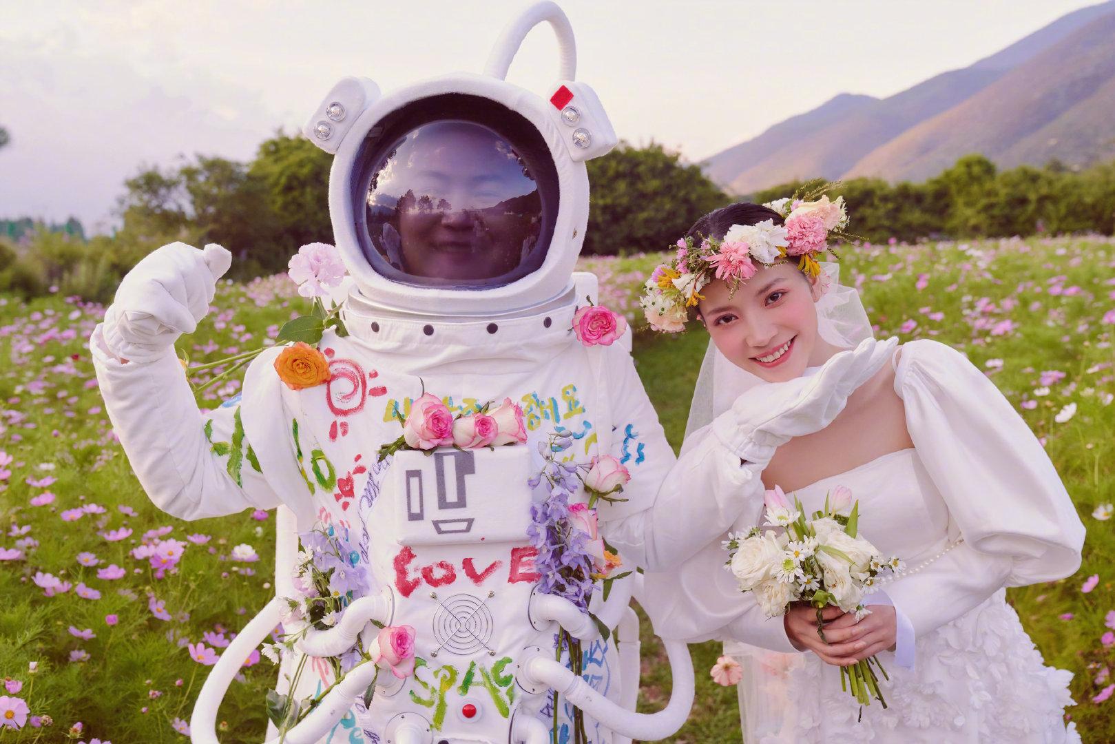 铂爵旅拍丽江婚纱摄影 总算实现了多年的婚纱照梦想
