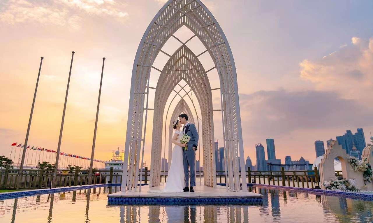 青岛铂爵旅拍 很不错的一次婚纱摄影体验